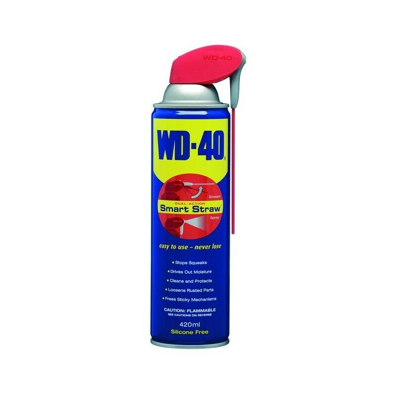 Univerzální mazivo WD 40 - Smart Straw – 420ml SOMET