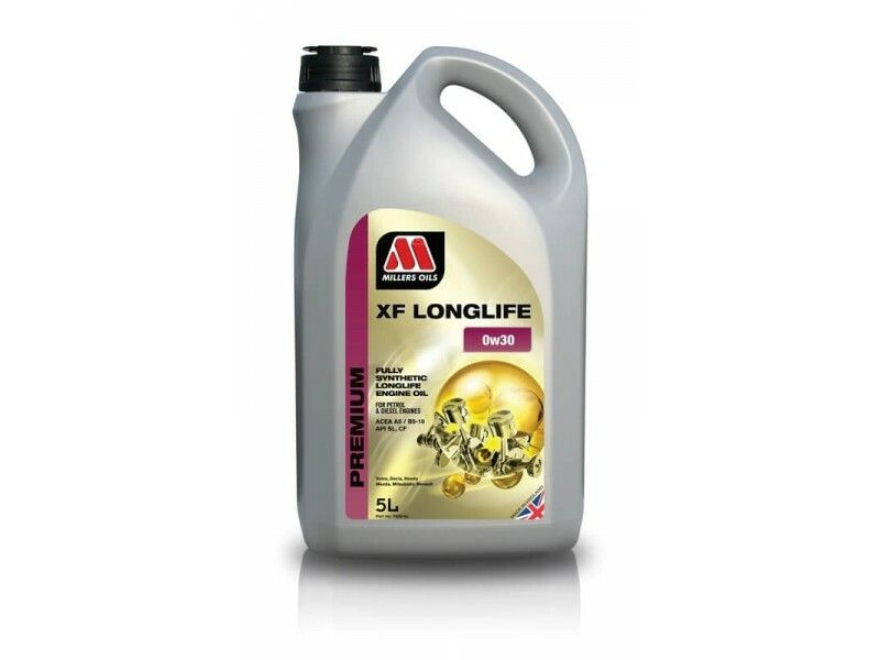 Millers Premium XF Longlife 0w30 5l MILLER OILS