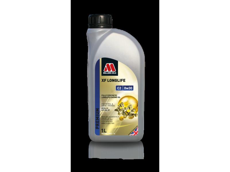 Millers Premium XF Longlife C2 0w30 1l MILLER OILS