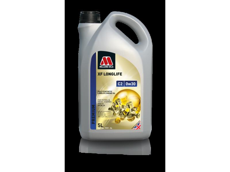 Millers Premium XF Longlife C2 0w30 5l MILLER OILS