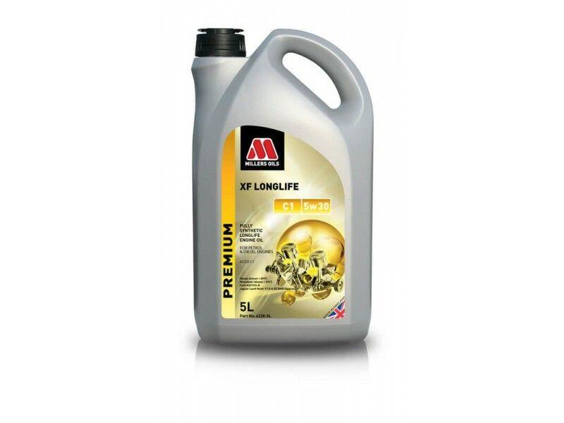 Millers Premium XF Longlife C1 5w30 5l MILLER OILS