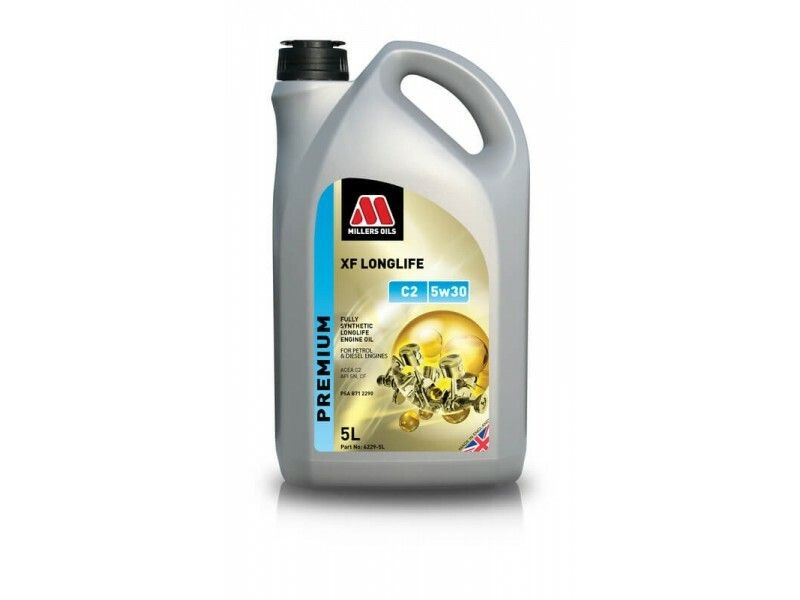 Millers Premium XF Longlife C2 5w30 5l MILLER OILS