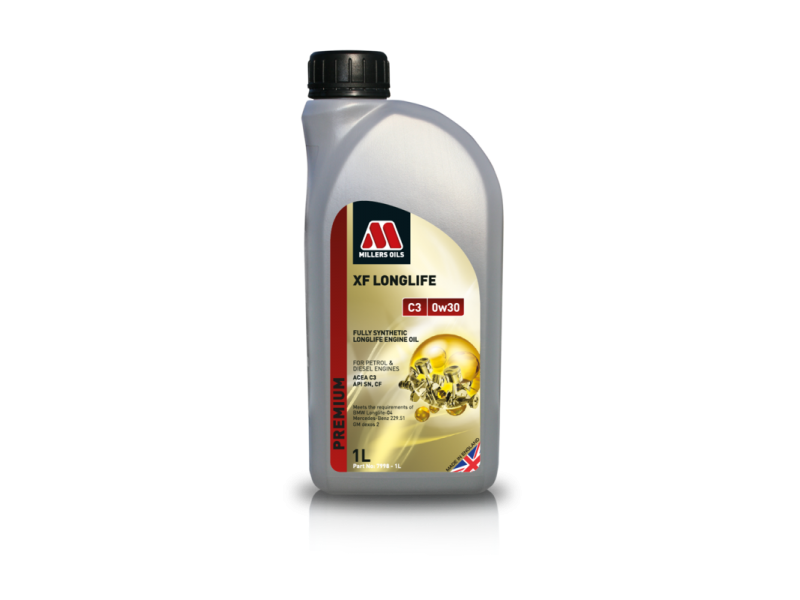 Millers Premium XF Longlife C3 0w30 1l MILLER OILS
