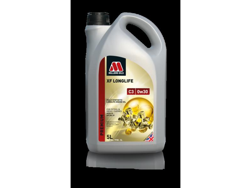 Millers Premium XF Longlife C3 0w30 5l MILLER OILS