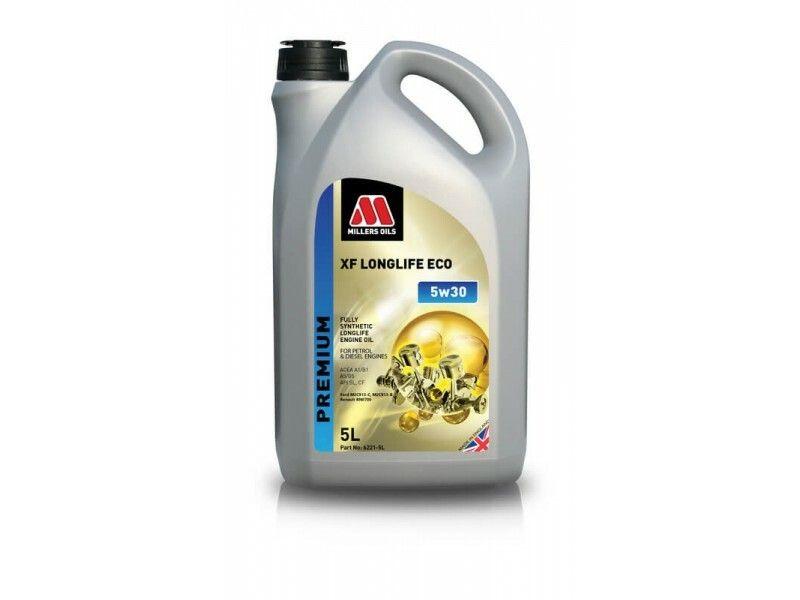 Millers Premium XF Longlife ECO 5w30 5l MILLER OILS