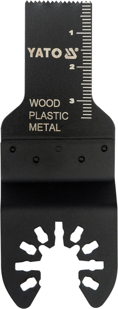 Fotografie Pilový list na ponor. řezy BIM pro multifunkční nářadí, 20mm (dřevo, plast, kov) YATO