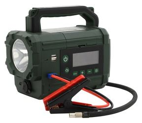 Kompresor / zdroj AKU Power starter 300A LiFePO4, COMPASS