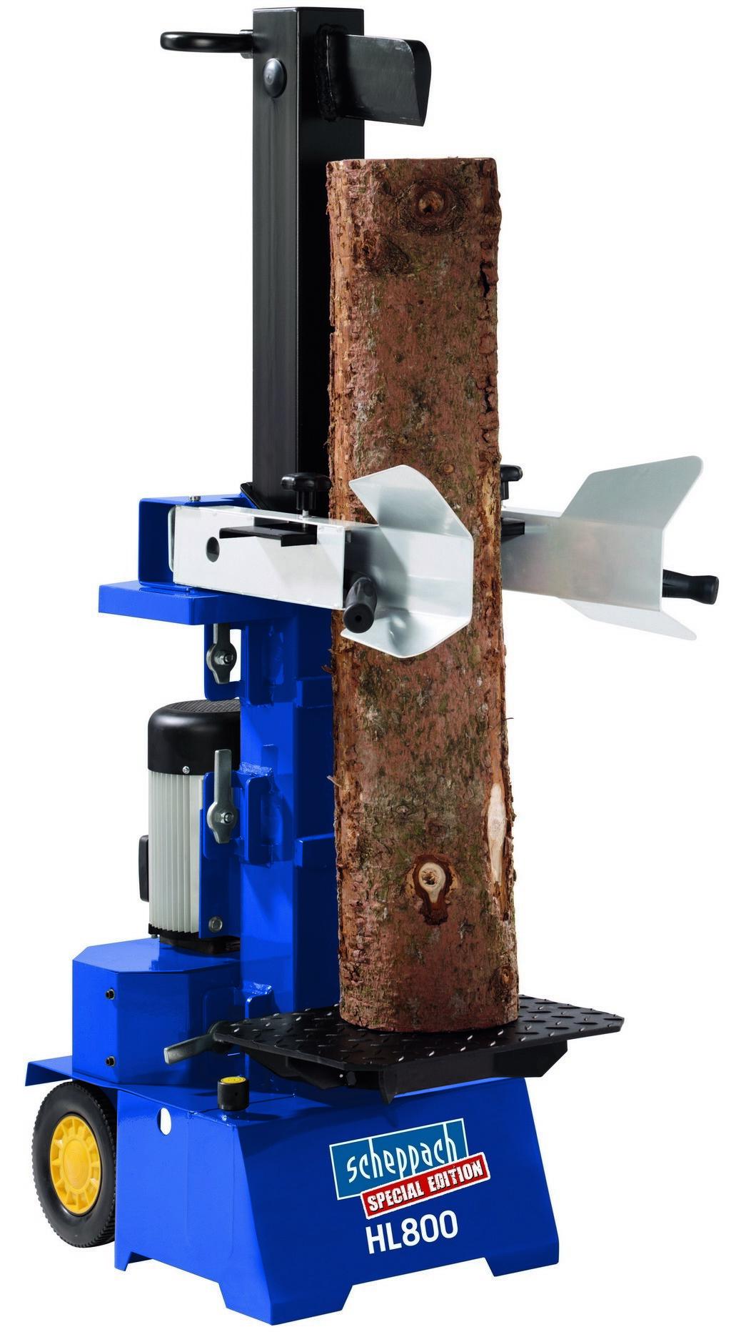 HL 800 - vertikální štípač dřeva (Scheppach edition)