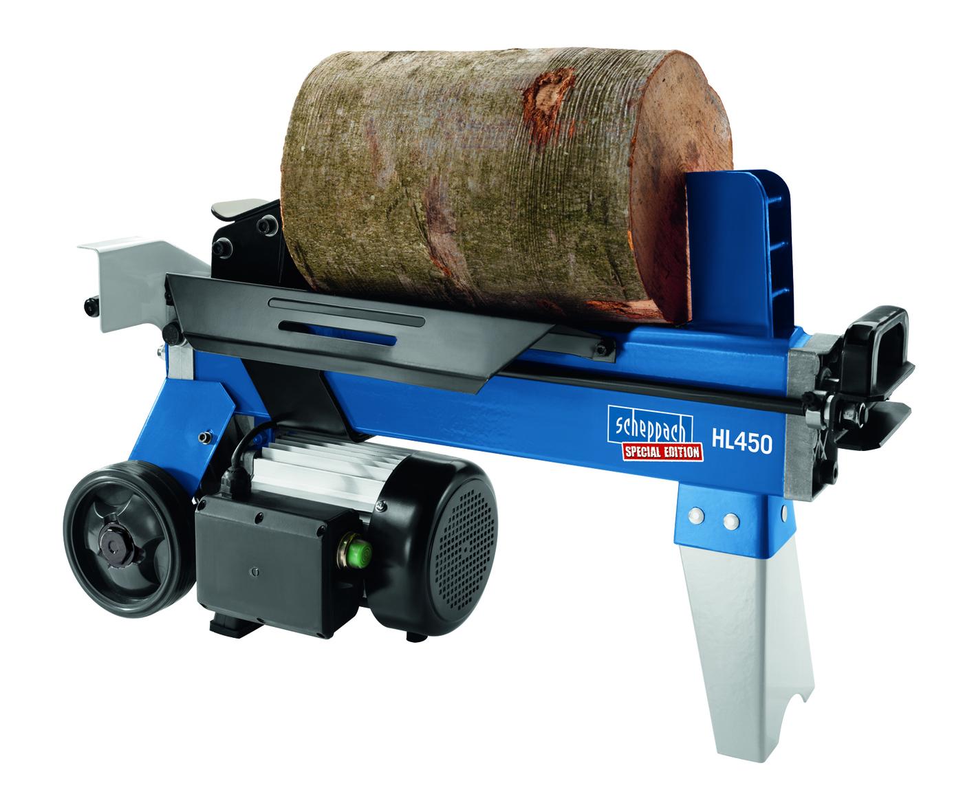 HL 450 - horizontální štípač dřeva