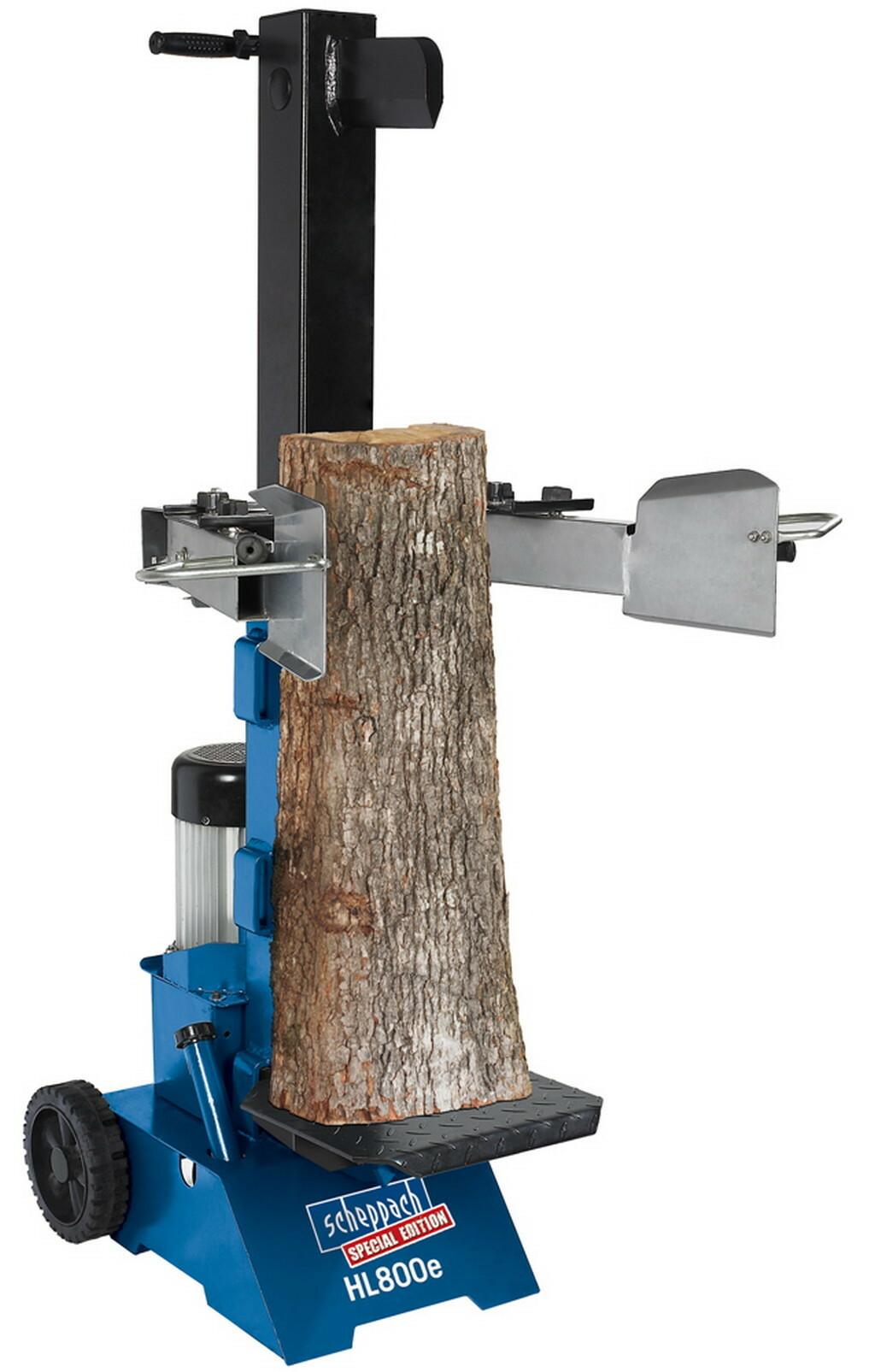 HL 800e - vertikální štípač dřeva