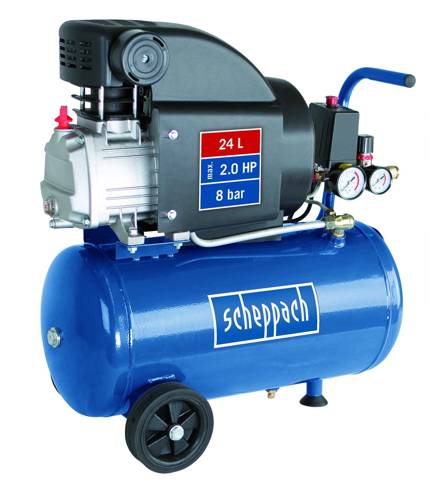 Kompresor olejový HC 25, 1500W, Scheppach
