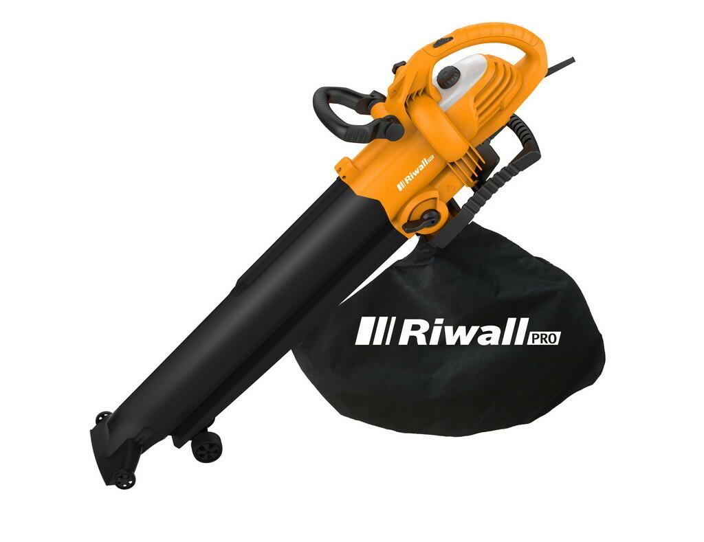 RIWALL REBV 3000 - vysavač/foukač s elektrickým motorem 3000 W