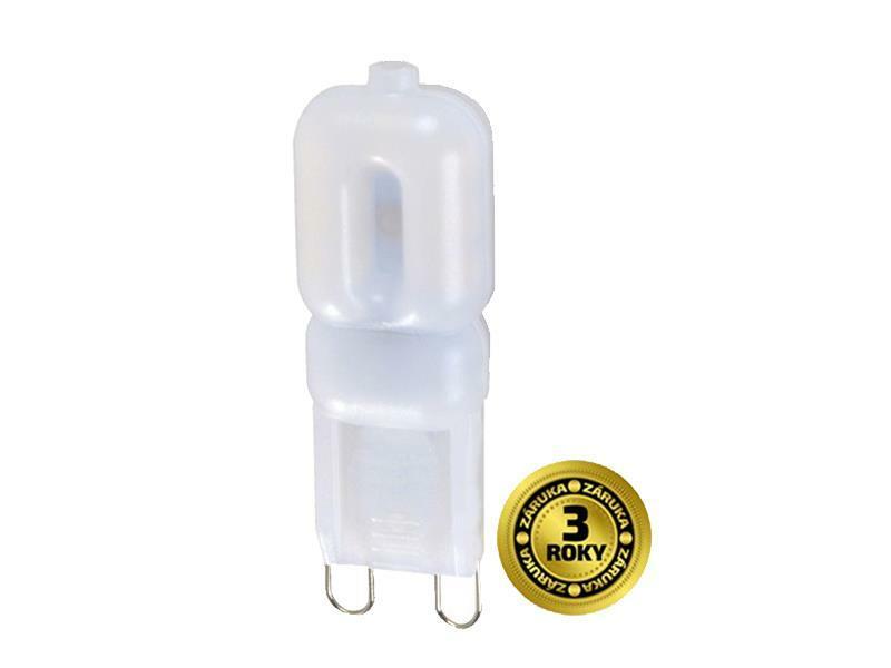 Žárovka JC G9 2,5W bílá teplá SOLIGHT TIPA