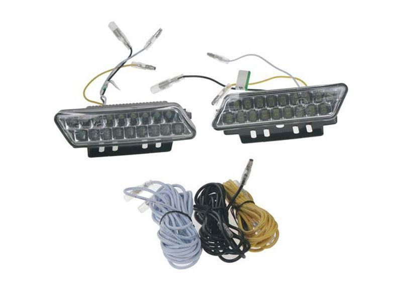 Světla pro denní svícení LED DRL mini 1810, homologace