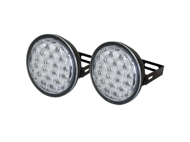 Světla pro denní svícení LED DRL019/pir, homologace TIPA