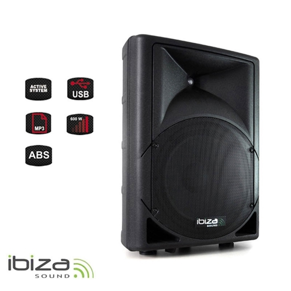 Reprosoustava IBIZA MK12A-USB