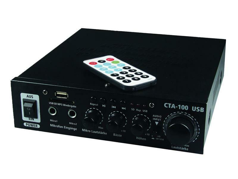Zesilovač CTA-100/USB, 100W