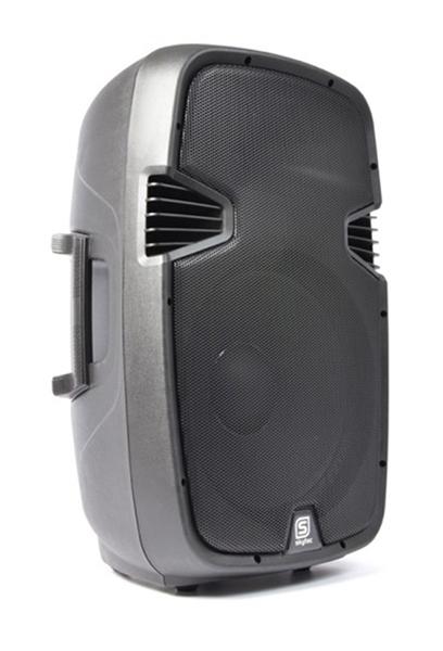"Skytec SPJ-15, aktivní 15"" reprobox MP3-SD-USB 400W"