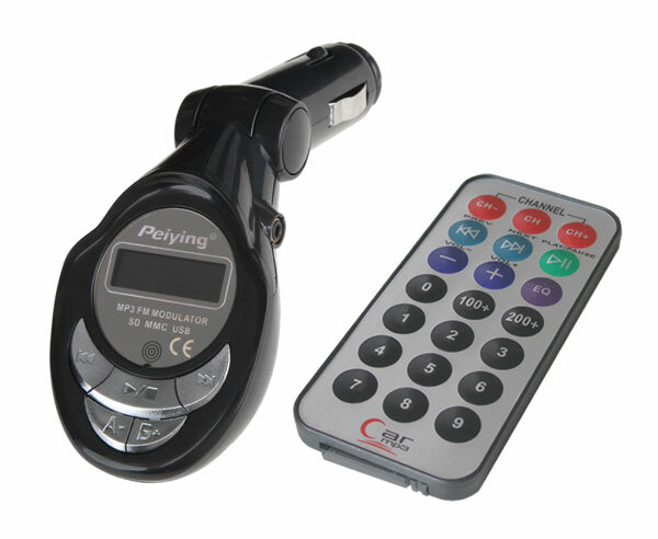 FM modulátor do auta T397