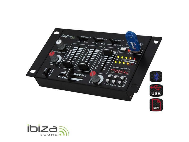 Mixážní pult IBIZA DJ21USB-BT