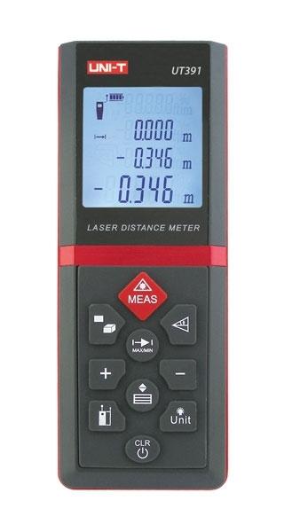 Laserový měřič vzdálenosti UNI-T UT391
