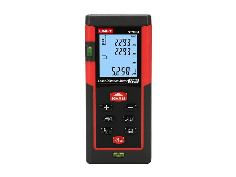 Dálkoměr - laserový měřič vzdálenosti UNI-T UT393A (120m)