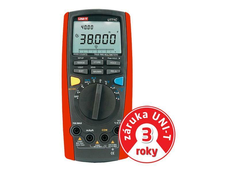Multimetr UNI-T UT 71C
