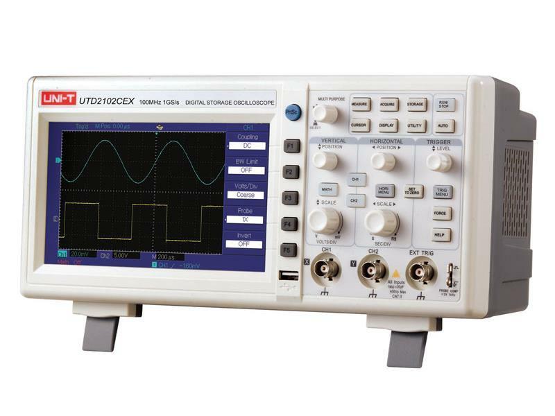 Osciloskop UNI-T UTD2102CEX (100MHz)