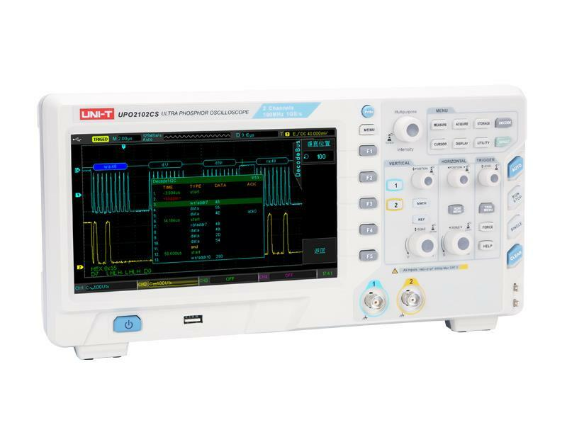 Osciloskop UNI-T UPO2102CS (100MHz)