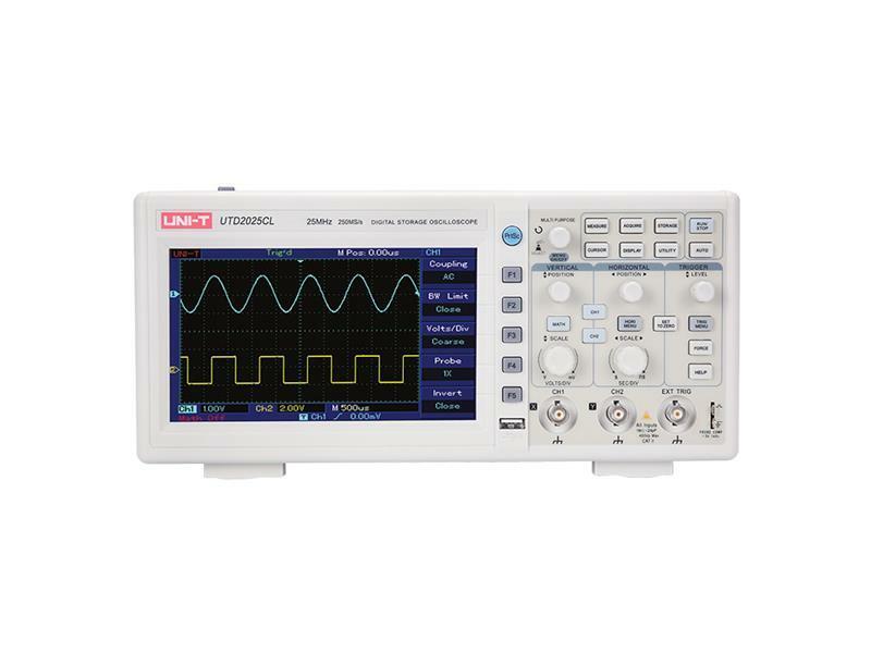 Osciloskop UNI-T UTD2025CL  (25MHz)