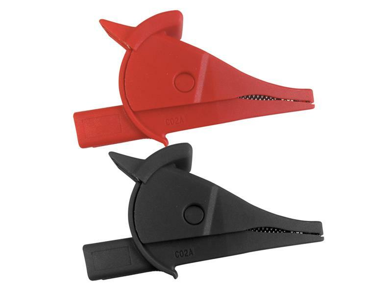 Krokosvorka UNI-T C02A sada-červená+černá L=80mm CAT III/ CAT IV