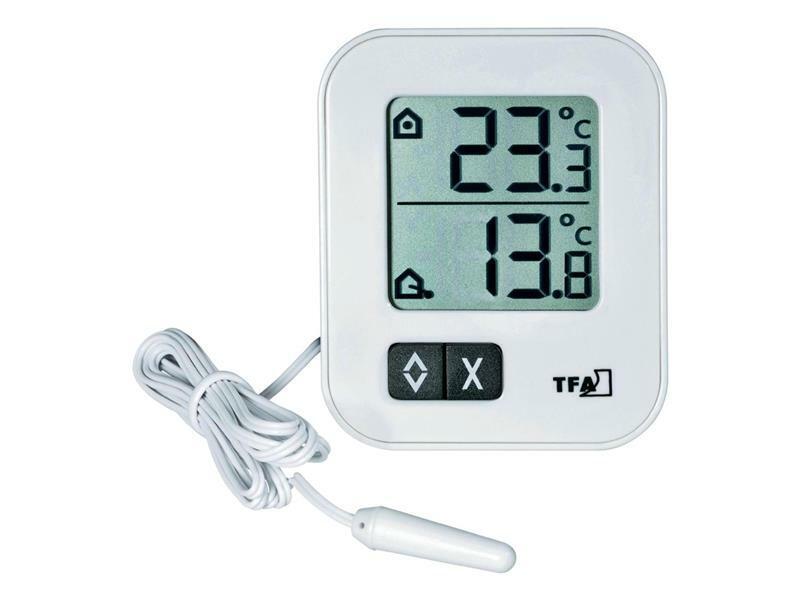 Digitální teploměr pro vnitřní/venkovní teplotu TFA 30.1043