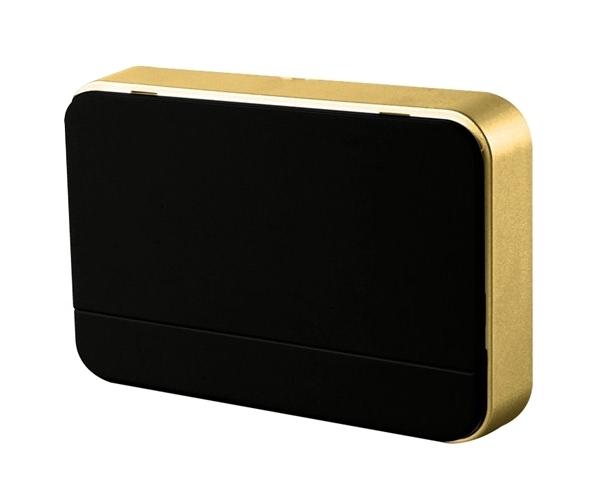Zvonek domovní bezdrátový 1L41B 2xAA baterie, nastavení hlasitosti, černý