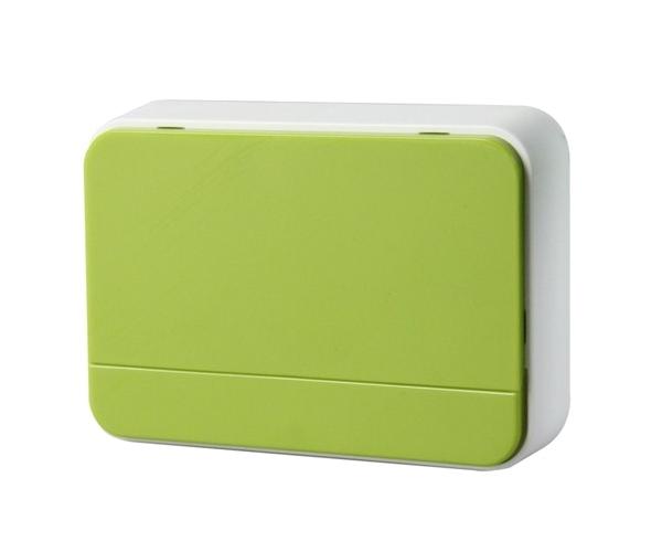Zvonek domovní bezdrátový 1L41G 2xAA baterie, nastavení hlasitosti, zelený