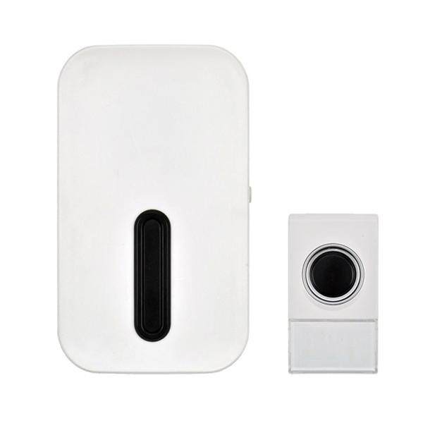 Zvonek domovní bezdrátový 1L36, do zásuvky, 80m, bílý