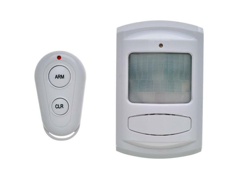 GSM Alarm, pohybový senzor, dálk. ovl., bílý, 1D11, SOLIGHT