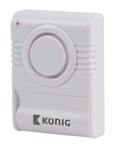 Alarm se senzorem rozbitého skla KÖNIG SAS-AGB10