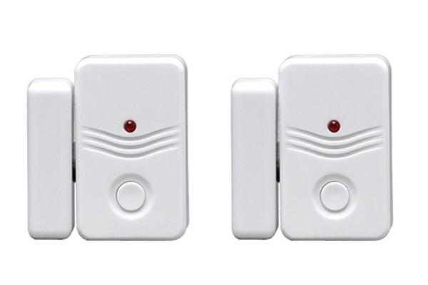 Alarm domovní bezdrátový GSM 1D15 - doplňkové dveřní / okenní senzory 2ks pro GSM alarm...