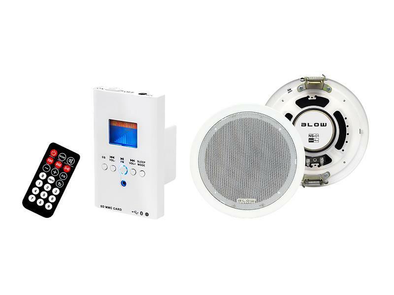 Audio systém nástěnný BLOW NS-01, dálkové ovládání