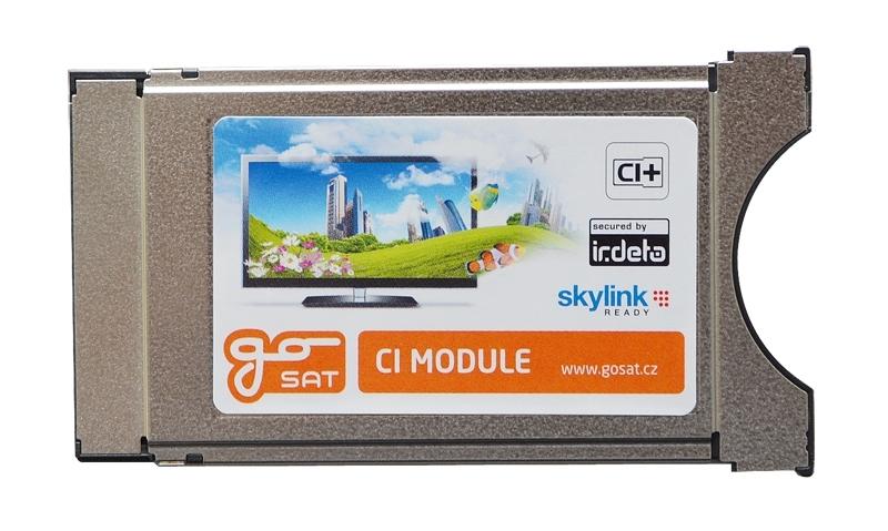Satelitní CA modul GoSAT Irdeto CI+