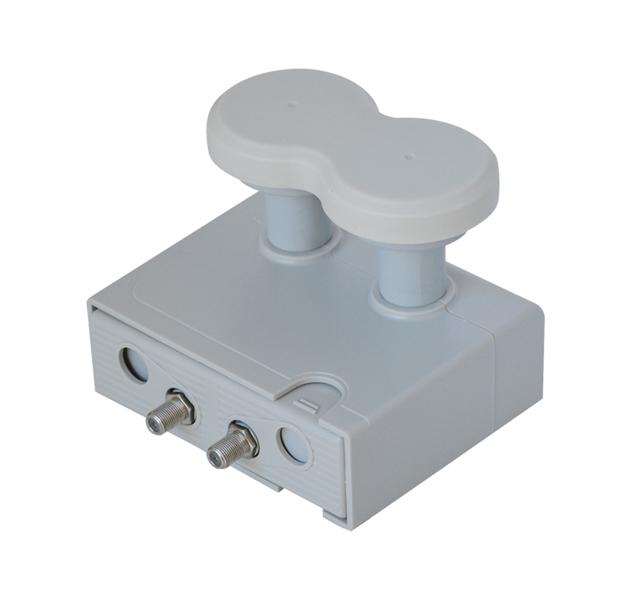 Satelitní konvertor Mascom Monoblok 4,3 Twin