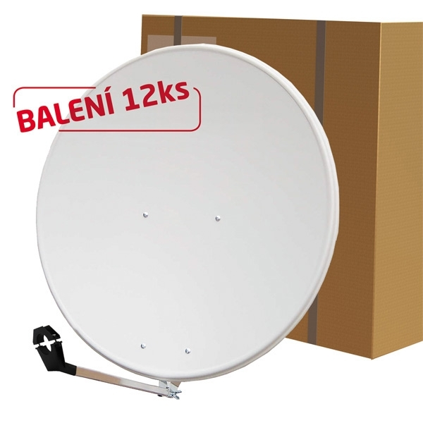Satelitní parabola 80Al Emme Esse bílá BALENÍ 12ks