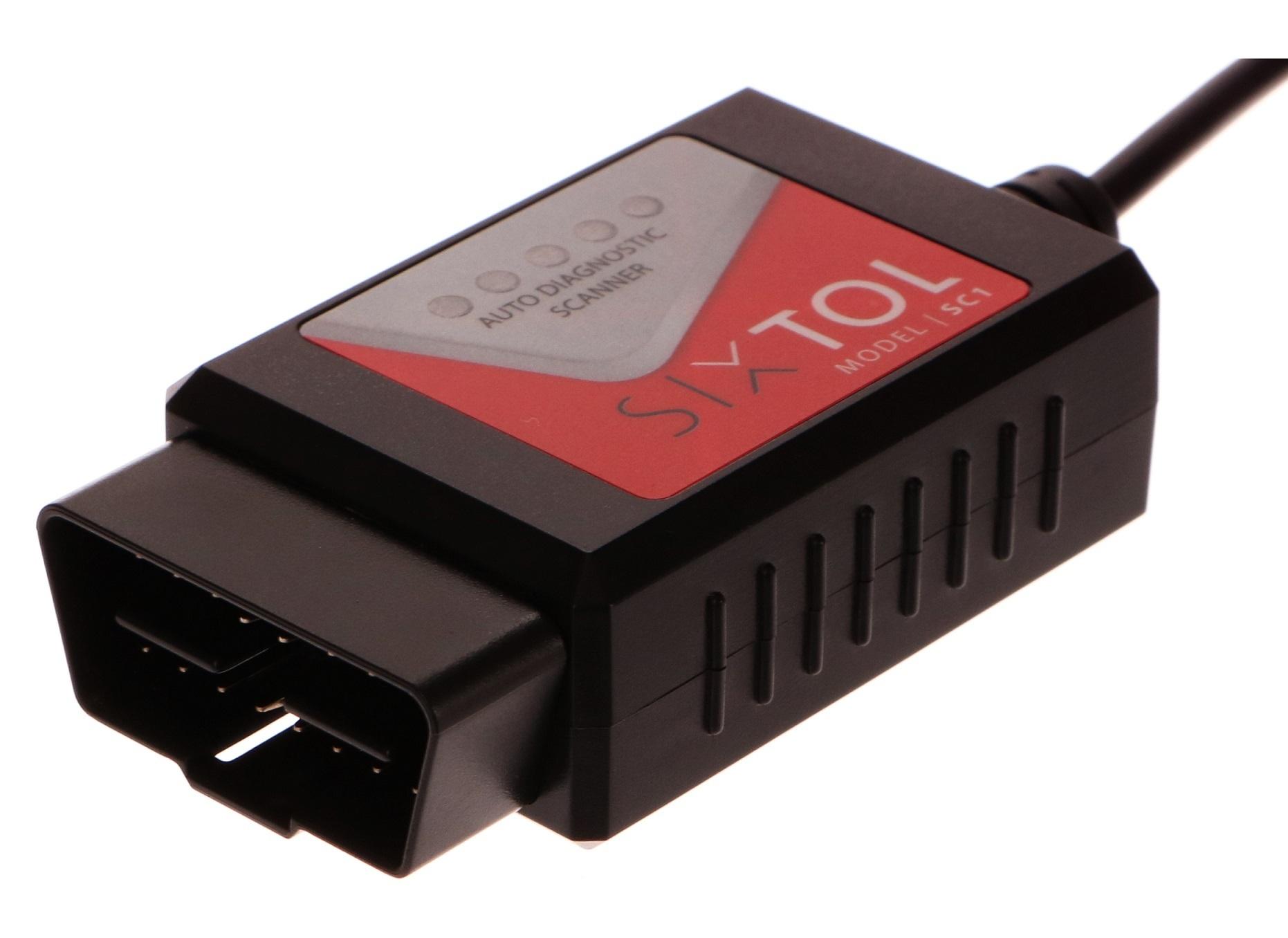 SIXTOL SC1 OBD2 USB + CZ program