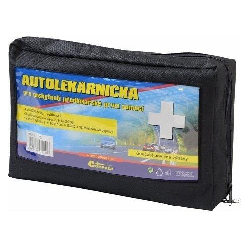 Lékárnička I. textilní brašna (expirace 4 roky) COMPASS