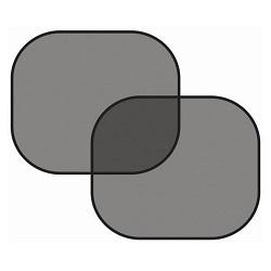 Clona sluneční na boční okno, černá, 2 přísavky COMPASS