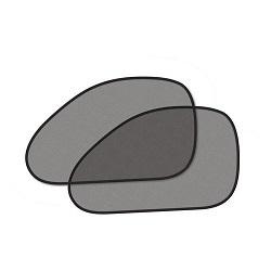 Clona sluneční černá, tvarovaná, 2 přísavky, COMPASS